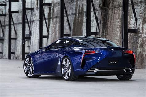 2012 Lexus Lf-lc Blue Concept Cool Cars