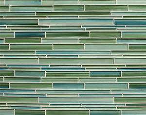 Rip, Curl, Hand, Painted, Linear, Glass, Mosaic, Tiles, U2013, Rocky, Point, Tile