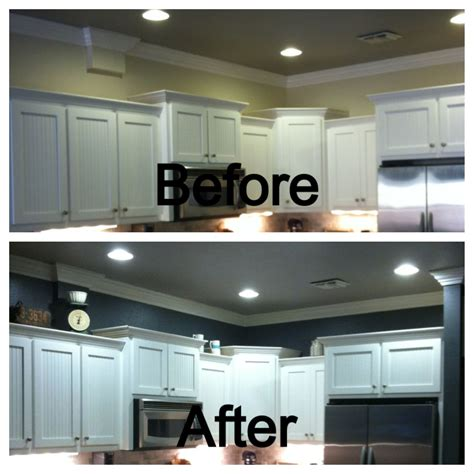 behr kitchen cabinet paint behr ash above the kitchen cabinets before and after 4407