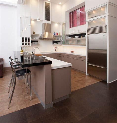 exemple de cuisine en u cuisine en u ouverte pour tout espace 55 photos et conseils