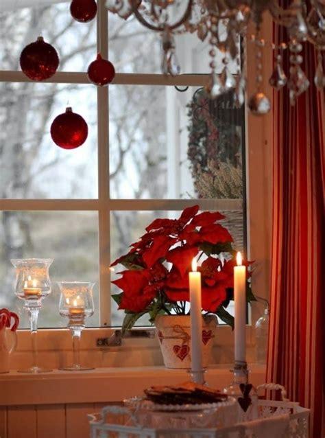 Weihnachtsdeko Fensterbank Rot by Weihnachtsdeko Weihnachtsdeko