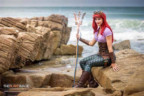 Steampunk Little Mermaid — Ariel Cosplay — Geektyrant