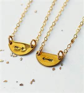 Kitchen Pantry Furniture Arrows Best Friends Necklace Set Jewelry Necklaces Make Pie Not War Scoutmob Product Detail