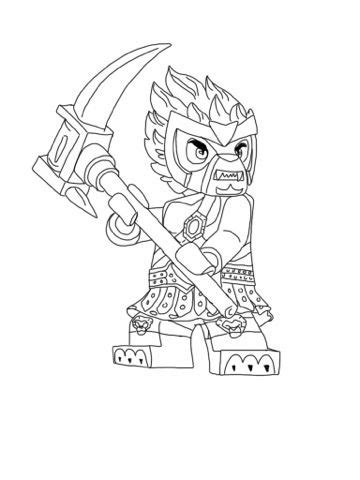 lego legend  chima color pages   coloring pages
