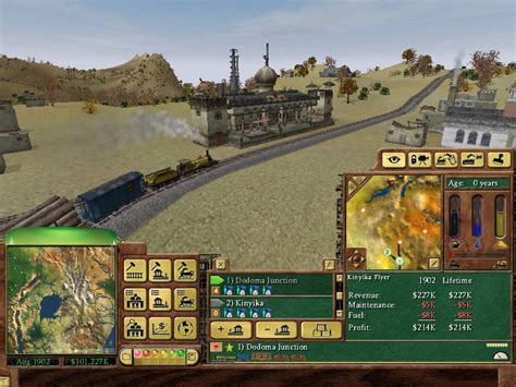 Railroad Tycoon 3 Review Pcgamesarchivecom