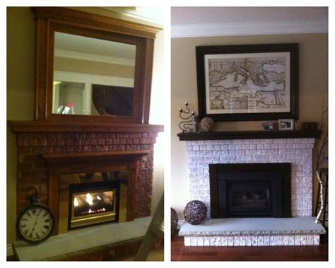 fireplace makeover easy   update  fireplace