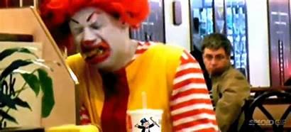 Mcdonald Ronald Crying Eating Mcdonalds Animated Gifs