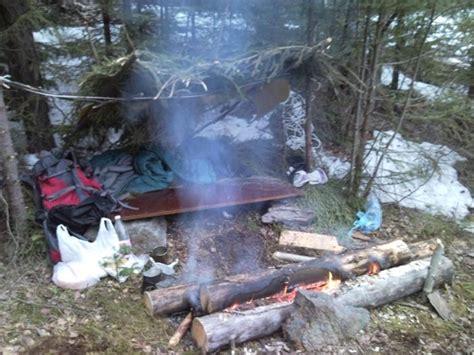 wilderness camping spring