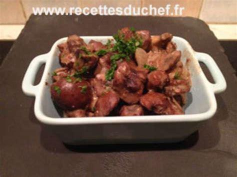 cuisiner les rognons de boeuf recettes de rognons de boeuf