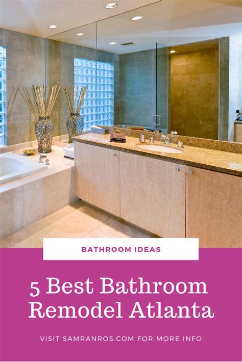 bathroom remodel atlanta amazing bathrooms