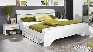 Bett Weiß 160x200 Holz : bettanlage fellbach bett schlafzimmerbett nako wei 160x200 ~ Markanthonyermac.com Haus und Dekorationen