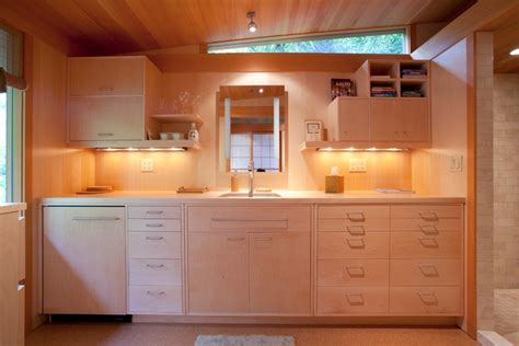 kitchen cabinets and islands small remote guest house studio contemporary kitchen 5904