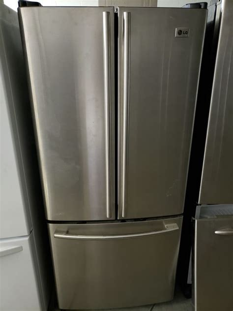 lg   wide stainless steel refrigerator  sale