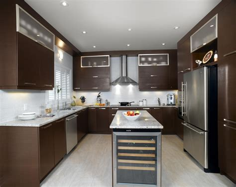 cuisine bois wenge stainless kitchen