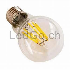 Ampoule Led Filament : ampoule 8w e27 filament led cog ~ Teatrodelosmanantiales.com Idées de Décoration