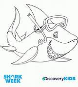 Shark Coloring Sharks Pages Sharkboy Lavagirl Discovery Snorkel Swimming Colouring Week Sharknado Drawing Print Activity Snorkels Activities Popular Getdrawings Template sketch template