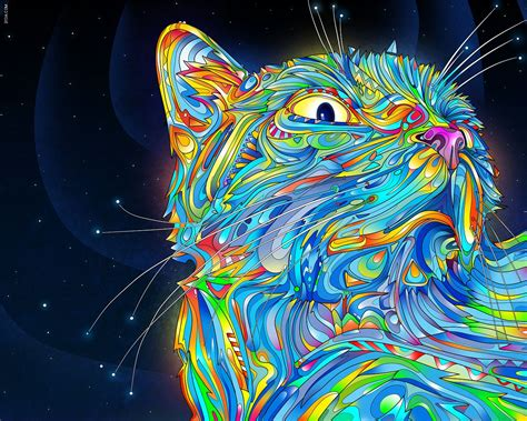 My Psychedelic Cat (short Story)