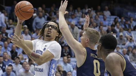record setting debut  anthony carries tar heels
