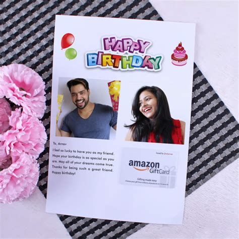Egift cards, or virtual gift cards make giving a last minute gift easier than ever. Amazon Gift Card with Personalized Birthday Letter 2000: Gift/Send Experiences and Gift Cards ...
