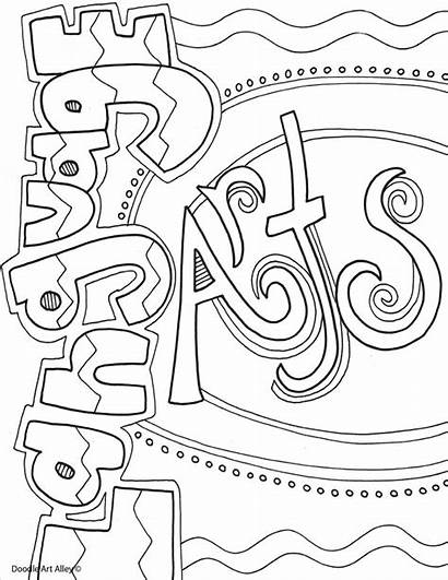 Covers Notebook Coloring Pages Binder Subject Subjects