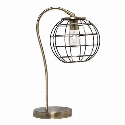 Brass Antique Lamp Cage Metal Arched Lamps