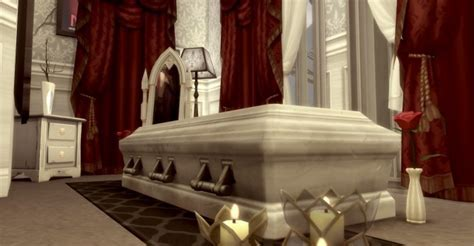 Romantic Vampire Room at ConceptDesign97 » Sims 4 Updates