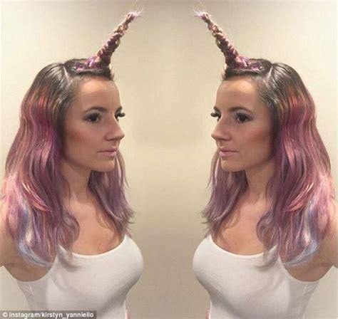 YouTuber Venus Angelic releases tutorial on 'unicorn hair