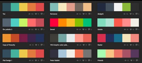 color combinations excellent flat design color combinations and how to apply