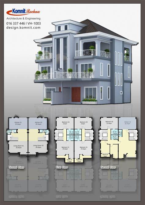 vt  vh  villas komnit khmer  phnom penh cambodia homedesign architectural house