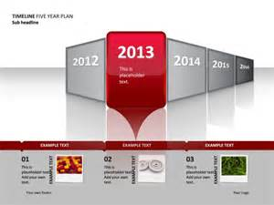 Excel Line Graph Templates Powerpoint Slide Timeline Diagram Year 2 Of 5 P34 2 Crystalgraphics Com