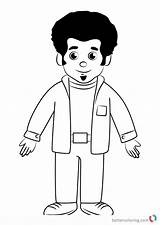 Coloring Tiger Daniel Stan Draw Neighborhood Drawing Printable Step Cartoon Adults Then Bettercoloring sketch template