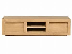 meuble tv bois clair maison design modanescom With photos de meubles de salon 10 banc tv chne clair moderne 3 niches 3 tiroirs dinozo 2