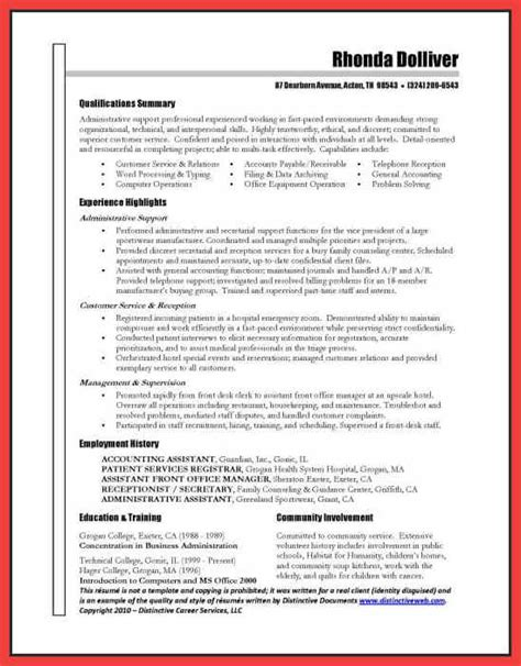 winning resume template 28 images winning resume