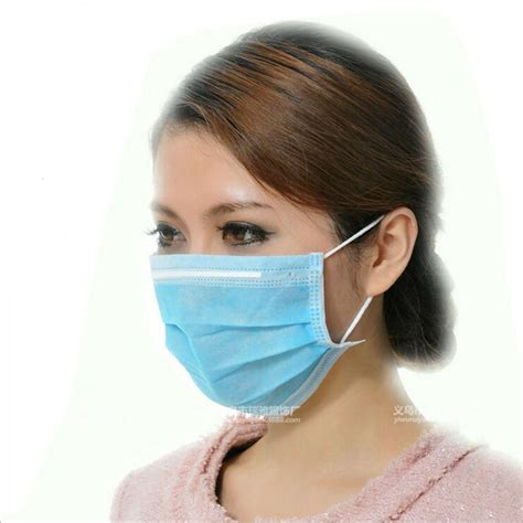 pcs medical masks  woven disposable anti dust mouth