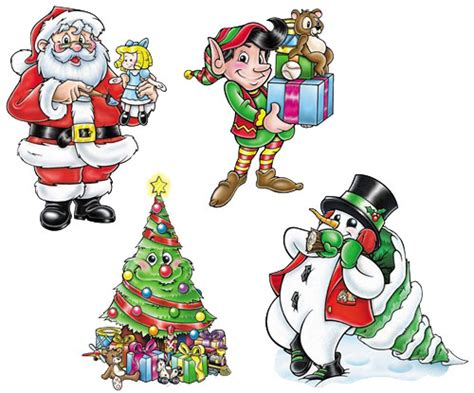 christmas cutout decorations