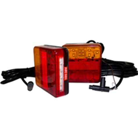 Led Trailer Lights With Wiring System