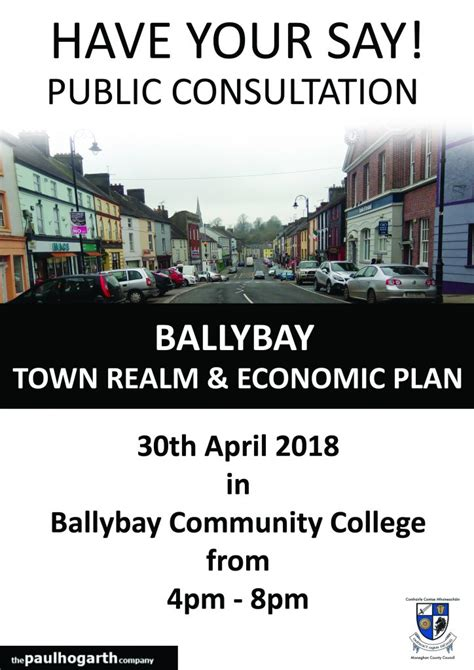 Public Consultation The Ballybay Realm