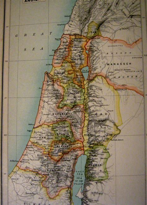 map  ancient palestineisrael gabriel flickr