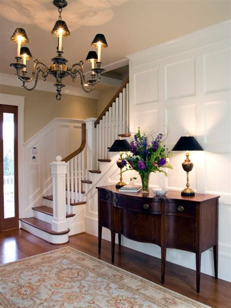 Entry Decor - foyer stairs entry home design ideas pictures remodel