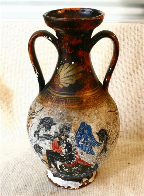 Pictures Of Antique Vases by Antique Vintage Painted Ceramic Pottery Hora