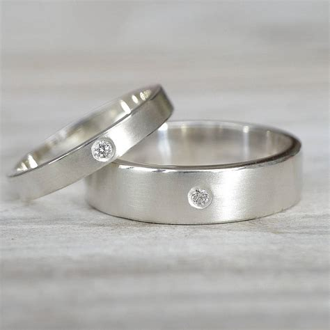 wedding rings pictures silver wedding rings