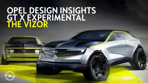 opel gt x 2020 opel gt x experimental design insights the vizor
