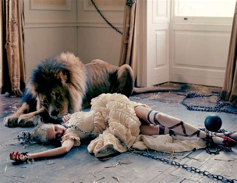 Atlas The Lion Film Tim Walker For Love Yellowtrace