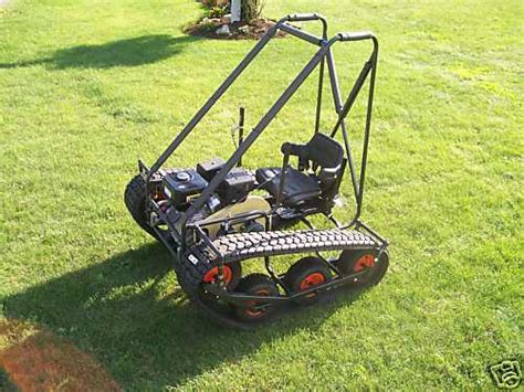Personal Tracked Vehicle Go-kart Build Plans