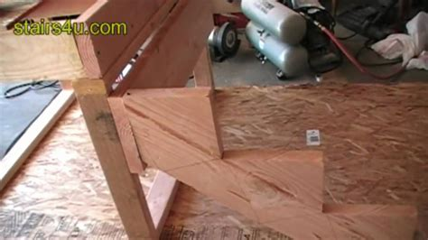 Attaching Stairs To Deck