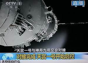 Chinese spacecraft docks with orbiting module - CBS News