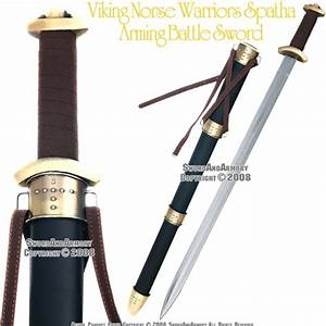 Viking NorseWarrior Spatha Arming Medieval Battle Sword