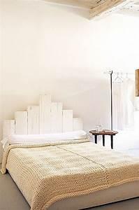 Fabriquer Une Tête De Lit : une t te de lit en palette bois fabriquer ~ Dode.kayakingforconservation.com Idées de Décoration