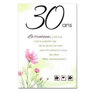 anniversaire mariage 30 ans 10 textes cartes anniversaire 30 ans texte carte invitation sms pour voeux d 39 anniversaire
