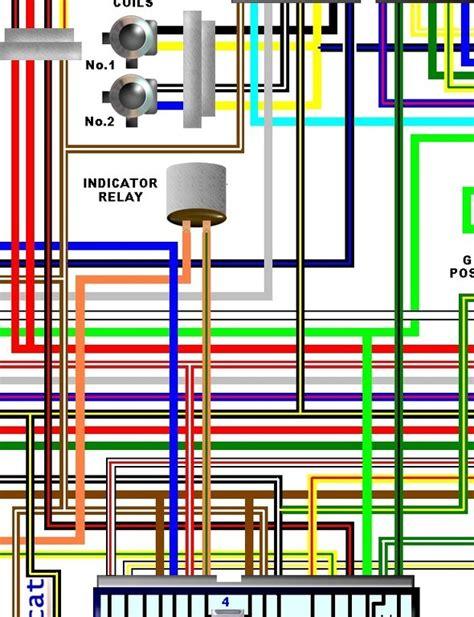 Kawasaki Gpz Turbo Wiring Diagram by Kawasaki Ej650a W650 Uk Spec Colour Wiring Loom Circuit